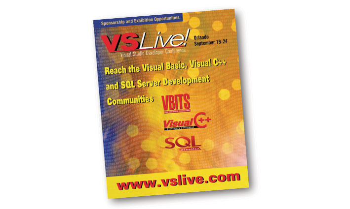 VS Live! Brochure Cover