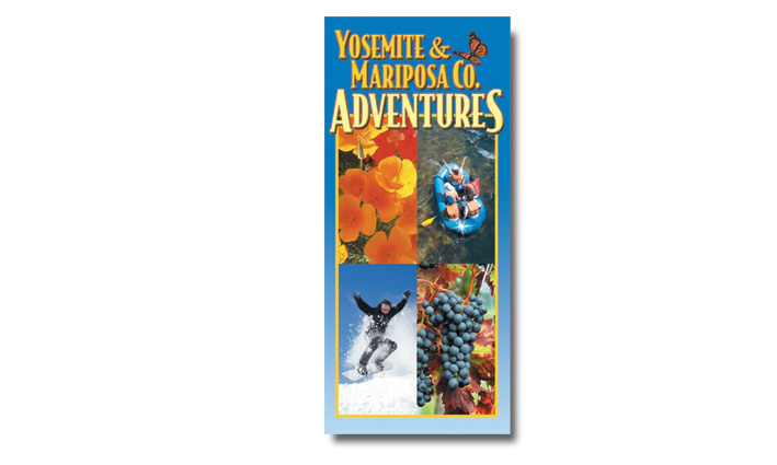Mariposa Yosemite Tourism Bureau Activities Rack Brochure