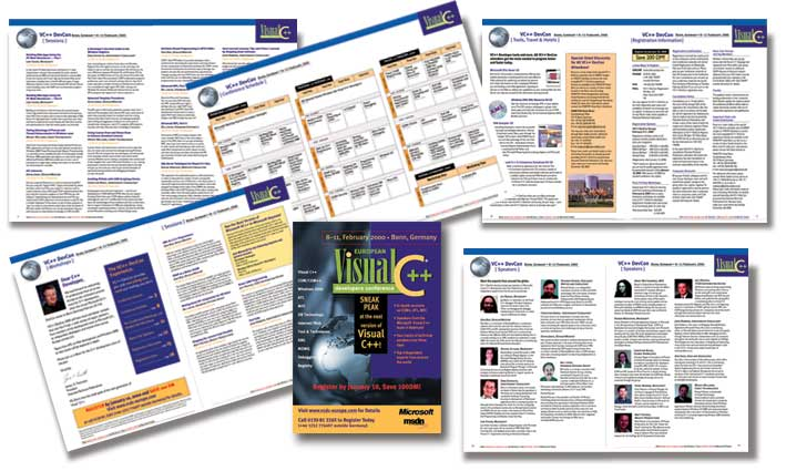 Visual C++ Trade Show Catalogs