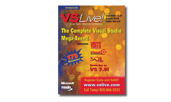 VS Live! Trade Show Catalog Cover