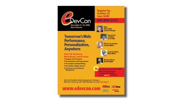 E DevCon Conference Catalog Cover