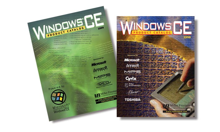 Windows CE Industry Catalogs
