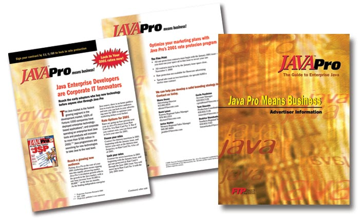 JavaPro Magazine Media Kit