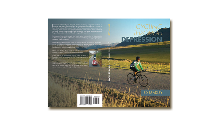 Self-Help Book Cover – Cycling Through Depression