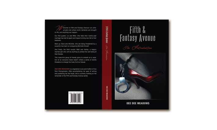 Fiction Book Cover – Fifth and Fantasy Avenue